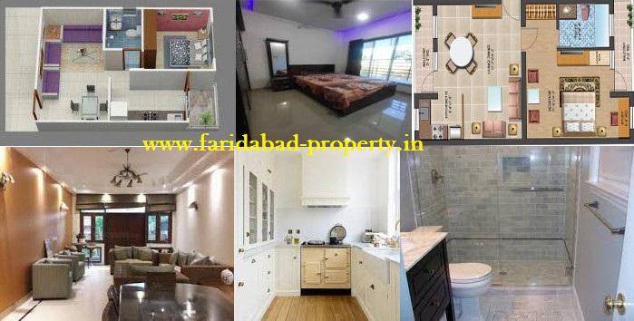 1 BHK Flats in Faridabad For Sale