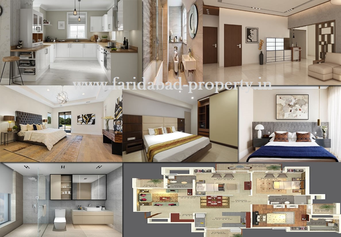 3 BHK Flats in Faridabad For Sale