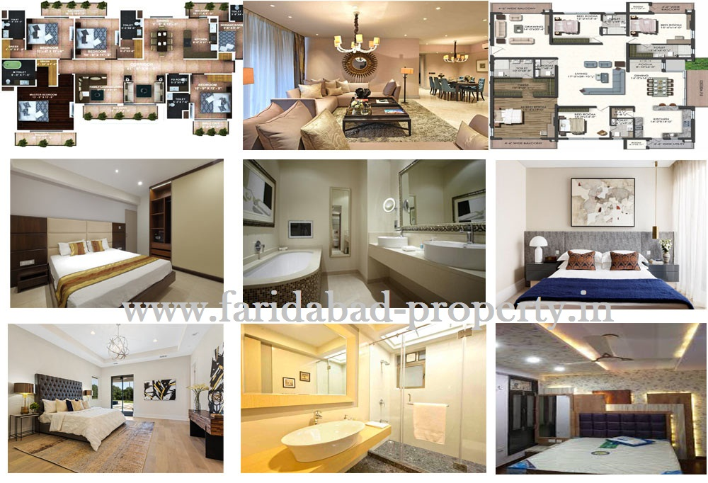 4 BHK Flats in Faridabad For Sale