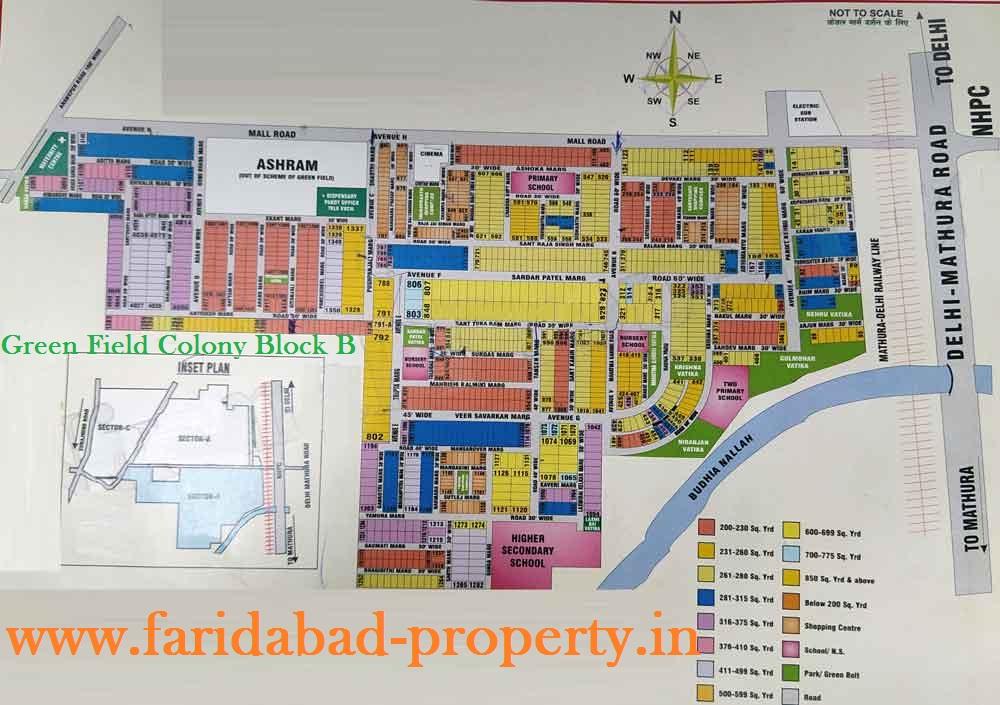 Flats for Sale in Green Field Colony Faridabad Block B