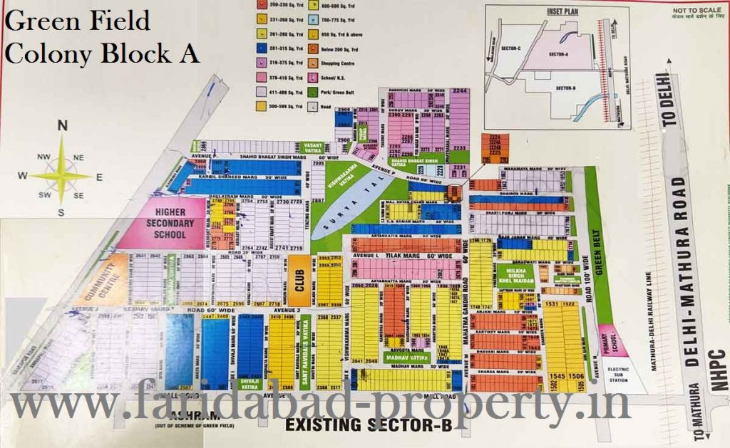 flats for sale in greenfield colony faridabad
