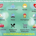 essential services in sector 37 faridabad